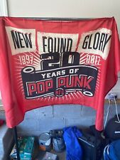 "New Found Glory ""20 Years Of Pop Punk"" FLAG!"