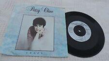 "Patsy Cline, 7"" single, Crazy b/w Sweet Dreams, MCA 1990, Very Good"