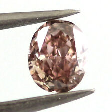 Pink Diamomnd - Natural Loose Fancy Brown Pink Diamond 0.52 Carats Oval Cut