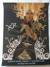QUEEN OF AIR AND DARKNESS 18x24 Original Promo Poster SDCC 2018 Cassandra Clare