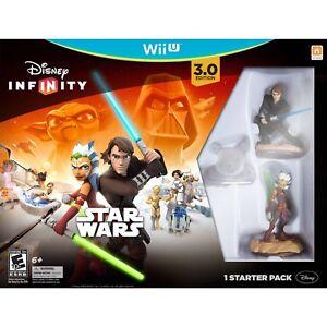 Disney Infinity Star Wars 3.0 Edition Starter Pack (Wii U) NEW!