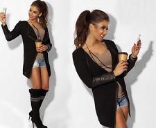 New Fashion Women Casual Jacket Blazer Long Sleeve Ladies Knitwear Cardigan Coat