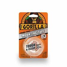 "Gorilla Tough & Clear Double Sided Mounting Tape, 1"" x 60"", Clear, 6065003"