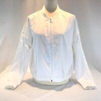 NEW Lululemon Pack Light Bomber Jacket Women's 12 Lightweight White Convertible