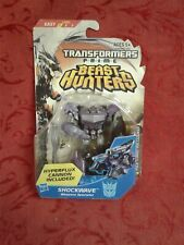 """Rare sealed Transformer Prime Beast Hunters Shockwave 4"""" weapons Specialist gift"""