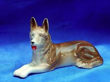 Antique Germany Porcelain  German Shepherd dog Belgian Malinois Dutch Shepherd*