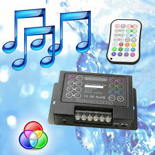 Pool Light Music RGB Controller + Changes Colours /Patterns to Music