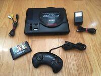 Original SEGA Genesis MK-1601-22 Model 1 Game Console + 1 Controller BUNDLE