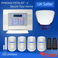 PYRONIX ENFORCER WIRELESS HOME ALARM SYSTEMS, PSTN-KIT- C UK STOCK! QUICK SHIP!!