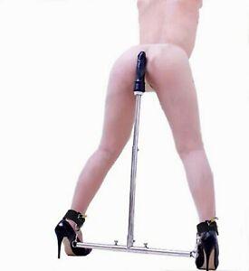 BDSM dildo bondage sex machine SCHIAVO COSTRITTIVO barra pene SADOMASO