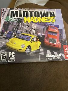 Midtown Madness Chicago SEALED - PC Game DOS (1999) Vintage BIG BOX - NEW IN BOX