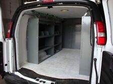 Van Shelving Storage Full Size Van Base Packsge - Set of 3 Shelving units, New.
