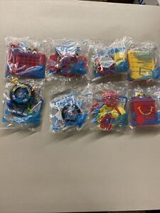 NEW McDonald's Hasbro Family Gaming 2018 Happy Meal Toys Complete Set 1-8 All
