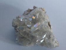cristalloterapia DRUSA AQUA AURA BIANCA A++ BOX quarzo cristallo roccia minerale