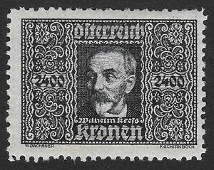 Austria  Air Post 1922-1924.Wilhelm Kress 2400 Kr (X1)