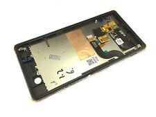 Black LCD Display +touch screen+Frame for Sony Xperia M5 Dual E5633 E5643 E5663