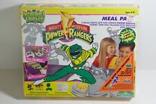 Magic Maker Incredible Edibles Mighty Morphin Power Rangers Meal Pack Mold Trays