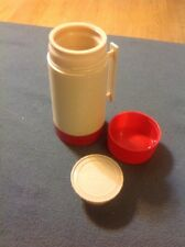 Aladdin Hy-Lo Wide Mouth 1 Pint Thermos Bottle #WM1020P Red Soup Container USA