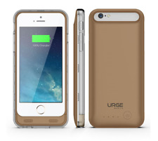 URGE Basics Armorlite iphone 6 Battery Case Gold and Clear Cell Phone SHIPS FREE