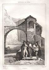 1834 Pifferai Zampognari bulino