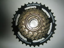 Shimano 7 speed freewheel Megarange cycle / bike block screw on 14 / 34 MF-TZ31