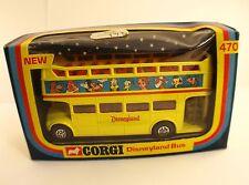 Corgi 470 Disneyland bus neuf en boîte de1976