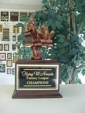 Fantasy Basketball Perpetual Armchair Basketball Award Trophy 16 Years New Cool!