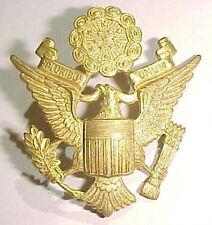 """WW2 US Army Officer Hat Badge - """"GEMSCO ACID TEST"""" - SB"""
