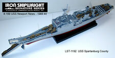 1/350 #4169 U.S.S. Newport  LST-1179 Full Hull RESIN & PE KIT 1985 Version