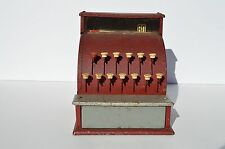 WONDERFUL VINTAGE TOM THUMB  METAL TOY CASH REGISTER 1950's
