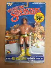 WWF LJN MOC JUMPIN JIM BRUNZELL wwe vintage ACTION figures grand toys retro wcw