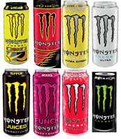 MONSTER ENERGY DRINK 500 ML CAN - BIG CHOICE - MIXXD JUICED VR46 LEWIS HAMILTON