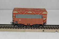 MARKLIN H0 : 311 B vagone in metallo con scatola : anno 1952 ++++++++++++++