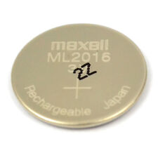 New Original Maxell ML2016 Rechargeable Lithium CMOS RTC Battery 3V