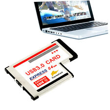 Express Card Expresscard 54mm to USB 3.0x2 PHei?er XX