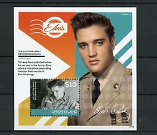Union Island Gren St Vincent 2014 MNH Elvis Presley Pre Army 1v S/S I Stamps