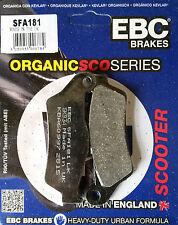 EBC/SFA181 Pastillas De Freno Scooter Yamaha XQ125 Maxster, YP125 Majestad, VP300 VERSITY