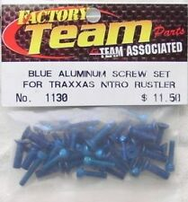 Traxxas Nitro Rustler Blue Aluminum Screw Set ASC1130