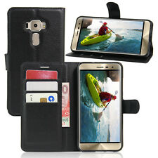 Wallet Leather Flip Card Case Pouch Cover For Asus ZenFone Genuine AuSeller