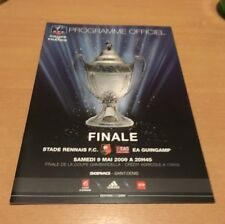 @ PROGRAMME OFFICIEL SRFC RENNES - EAG GUINGAMP - FINALE COUPE DE FRANCE 2009 @