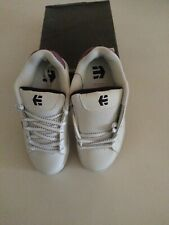 Etnies Girl's Leather Skate Shoes Size 5 US 4 UK 37.5 EUR Sparkle Glitter NEW