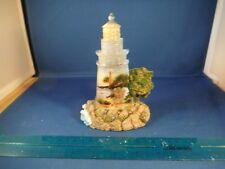 Thomas Kinkade Light Of God's Love Collection - Angel Of Lighthouse Statue