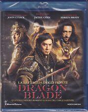 Blu-ray **DRAGON BLADE** con Jackie Chan nuovo 2014