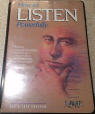 How To Listen Powerfully Cassettes New Audio Tapes Brian Battles