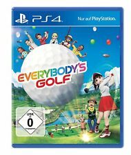 EVERYBODY´s Golf 7 PS4 PlayStation 4 NUEVO + Embalaje orig.