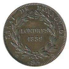 Module de 10 Centimes Louis-Philippe Ier Essai de Monnoyage Londres 1839
