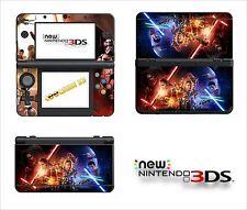 SKIN STICKER AUTOCOLLANT - NINTENDO NEW 3DS - REF 204 STAR WARS 7