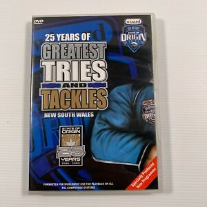NRL 25 years State of Origin - NSW Greatest Tries and Tackles (DVD Region all)