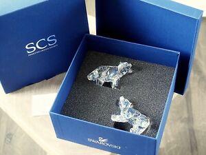 Swarovski SCS Polar Bear Cubs Crystal 1079156