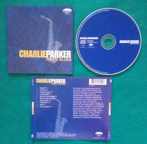 CD CHARLIE PARKER Funky Blues Official Recordings JAZZ LIVE 2004 no lp mc(S2)